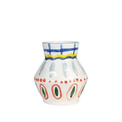 & klevering Vase Aya Vase / handgemalt - & klevering - Bunt