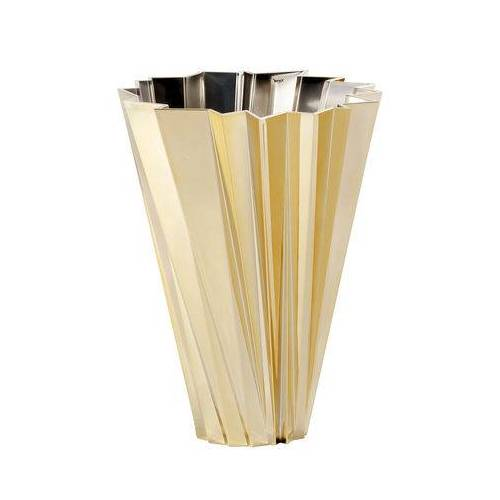 Kartell Shanghai Vase / metallic - Kartell - Gold