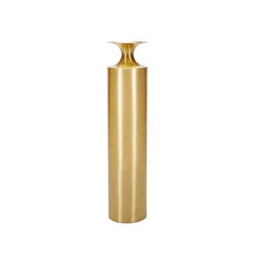 Tom Dixon Beat Vessel Tall Vase / Ø 25 cm x H 109 cm - Messing - Tom Dixon - Messing