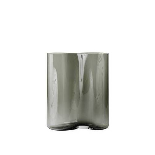 Menu Aer Small Vase / H 33 cm - Glas - Menu - Rauch