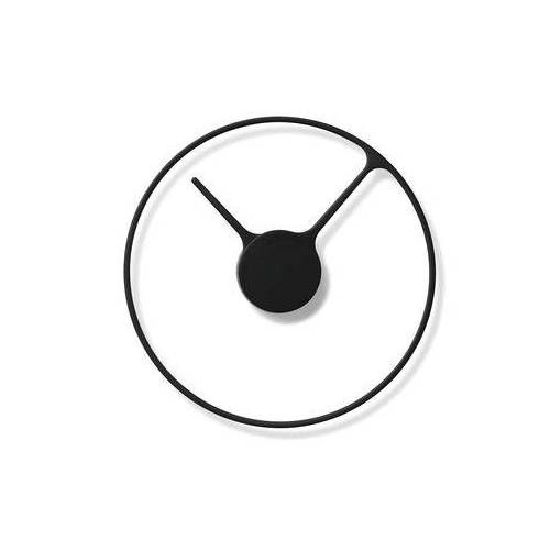 Stelton Time Large Wanduhr / Ø 30 cm - Stelton - Schwarz