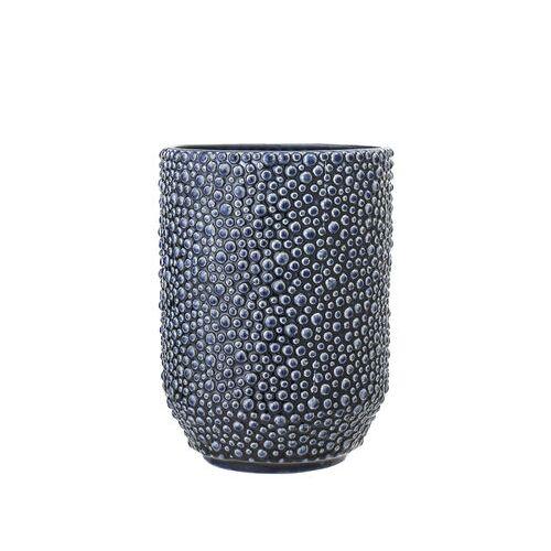 Bloomingville Vase / H 20,5 cm - Bloomingville - Blau