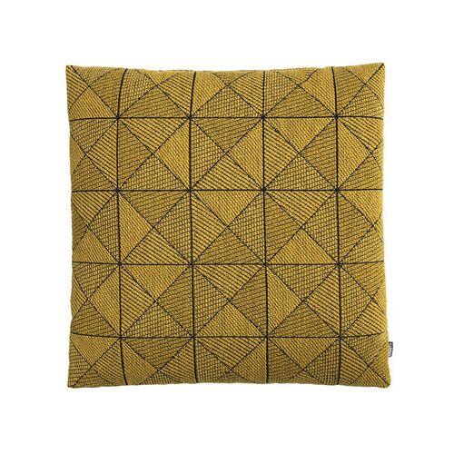 Muuto Tile Kissen / 50 x 50 cm - Muuto - Gelb,Schwarz
