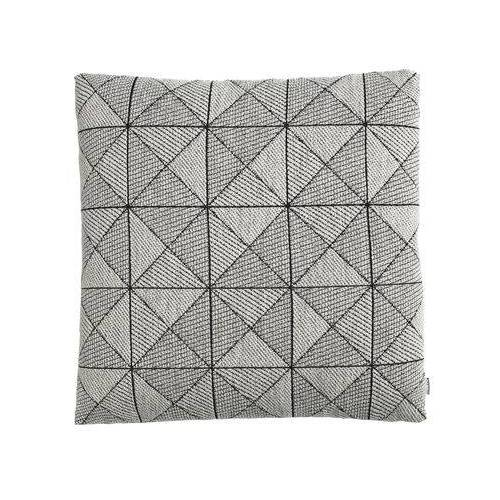 Muuto Tile Kissen / 50 x 50 cm - Muuto - Weiß,Schwarz