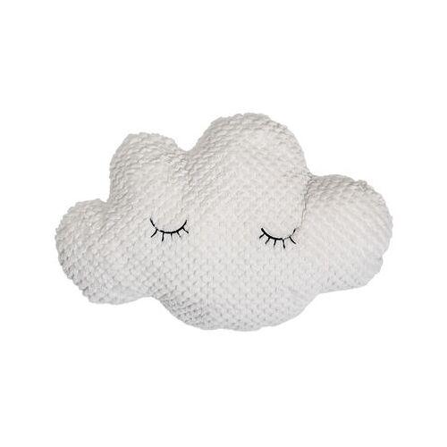 Bloomingville Nuage Kissen / L 60 cm - Velours - Bloomingville - Weiß