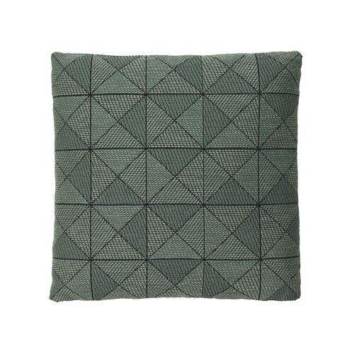 Muuto Tile Kissen / 50 x 50 cm - Muuto - Schwarz,Grün