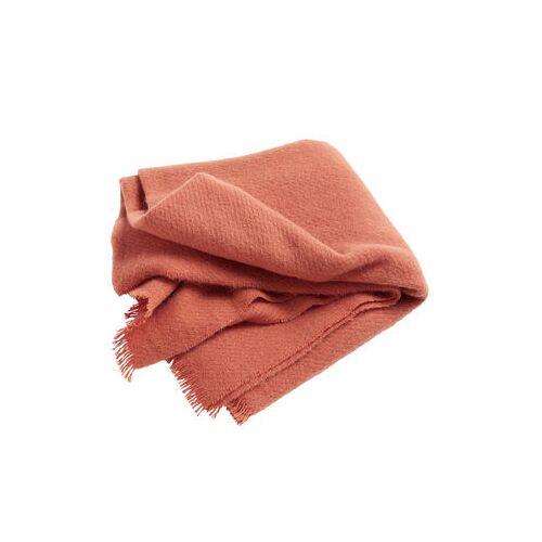 Hay Mono Plaid / 130 x 180 cm - Wolle - Hay - Orange