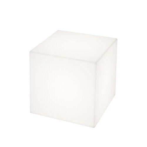 Slide Cubo beleuchteter Coutchtisch für außen - Slide - Weiß