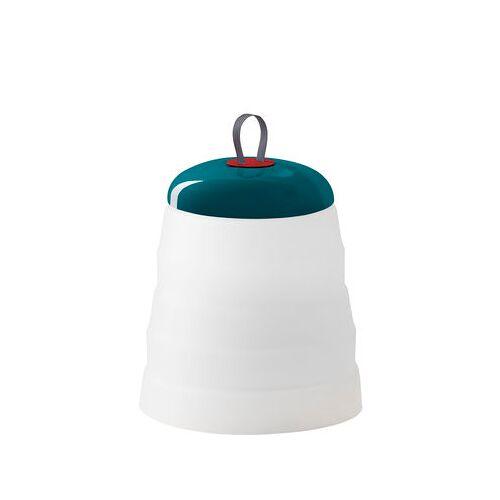 Foscarini Cri Cri LED Outdoor Lampe ohne Kabel / H 31 cm - mit USB-Ladekabel - Foscarini - Weiß,Grün