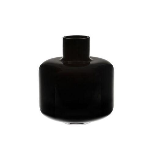 Marimekko Ming Vase / Glas - Ø 22 x H 24 cm - Marimekko - Schwarz
