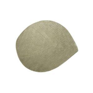 Nanimarquina Quill Medium Teppich / 124 x 142 cm - Nanimarquina - Edelsteingrün