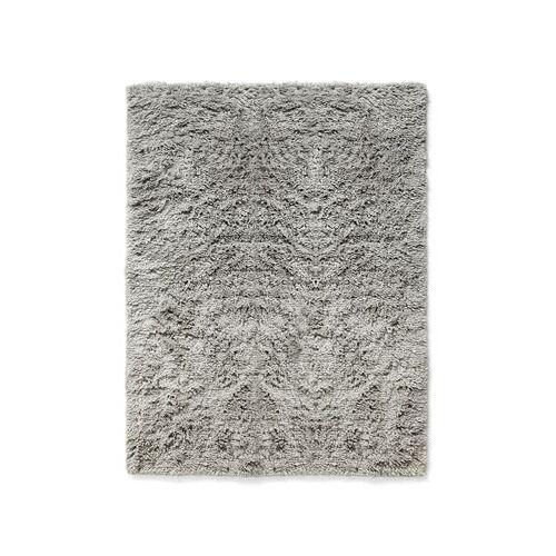 Hay Shaggy Teppich / 140 x 200 cm - Langflorig - Hay - Warmes grau