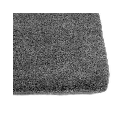 Hay Raw Rug NO 2 Teppich / 200 x 80 cm - Bouclette-Wolle - Hay - Dunkelgrau