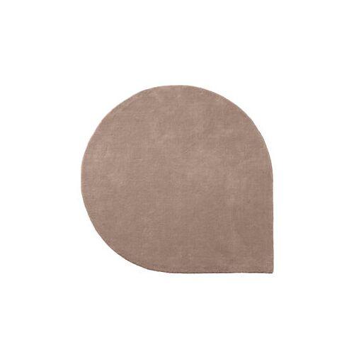 AYTM Stilla Teppich / 160 x 130 cm - handgeknüpft - AYTM - Altrosa