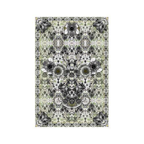 Moooi Carpets Eden King Teppich / 300 x 200 cm - Moooi Carpets - Grau,Grün