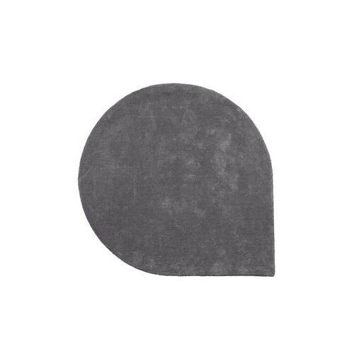 AYTM Stilla Teppich / Ø 130 cm - handgeknüpft - AYTM - Grau