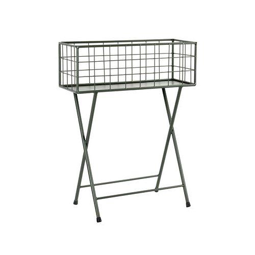 Serax Grid Blumenkasten / L 60 cm x H 78 cm - Metall - Serax - Kakigrün