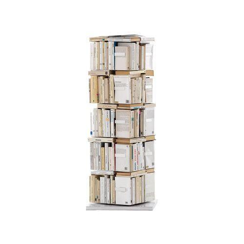 Opinion Ciatti Ptolomeo Drehbares Bücherregal 4 Seiten - für stehende Bücher - Opinion Ciatti - Weiß