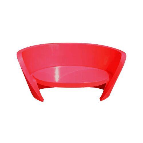 Slide Rap Sofa lackiert - Slide - Rot lackiert