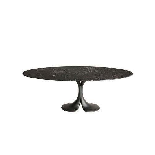 Driade Didymos Runder Tisch / Marmor - Ø 140 cm - Driade - Schwarz