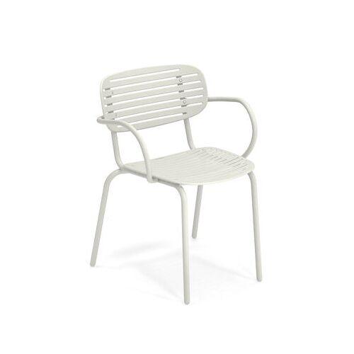 EMU Mom Stapelbarer Sessel / Metall - Emu - Weiß