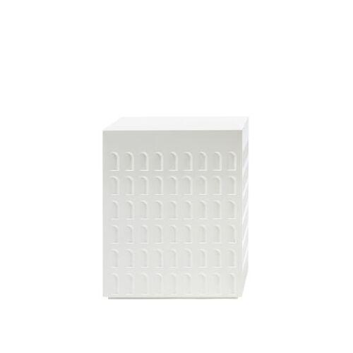 Kartell Eur Hocker / Beistelltisch - Kartell - Weiß