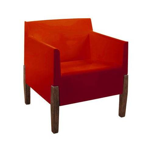 Serralunga Kubrick Sessel - Serralunga - Rot,Holz