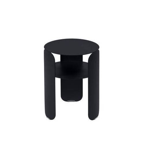 Fermob Bebop Beistelltisch / Ø 35 x H 45 cm - Fermob - Karbon