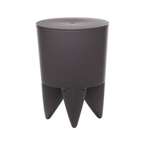 XO New Bubu 1er Hocker / Truhe - aus Kunststoff - XO - Kohlegrau