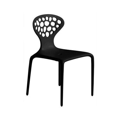 Moroso Supernatural Stapelbarer Stuhl - Moroso - Schwarz