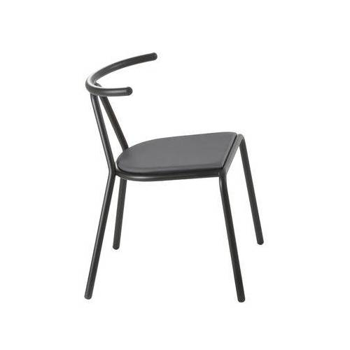 B-LINE Toro Gepolsterter Stuhl / Sitzfläche Stoff, gepolstert - B-LINE - Schwarz