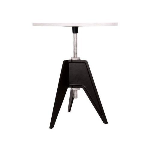 Tom Dixon Screw Höhenverstellbarer Tisch Tischplatte höhenverstellbar - Tom Dixon - Weiß,Schwarz