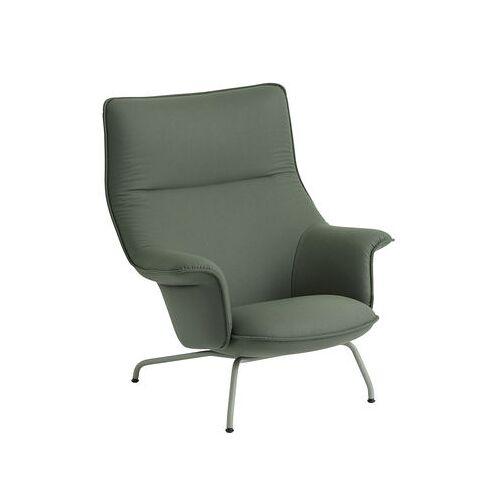 Muuto Doze Louge Gepolsterter Sessel - Muuto - Graugrün,Altgrün