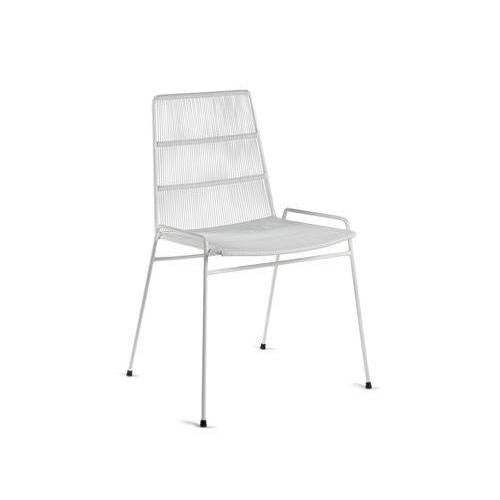 Serax Abaco Stapelbarer Stuhl / Fäden PVC - Serax - Weiß