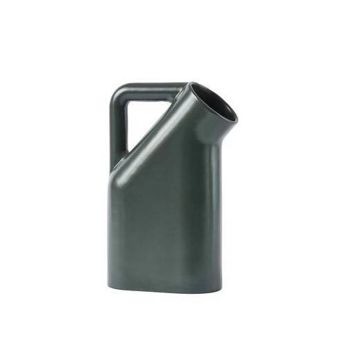 Muuto Tub Karaffe / Keramik - Muuto - Dunkelgrün