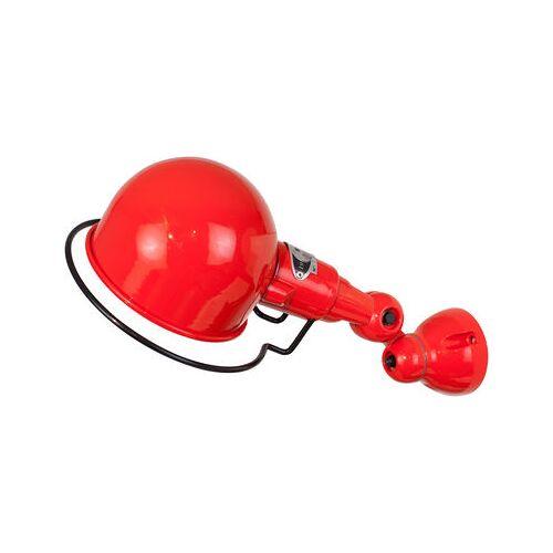 Jieldé Signal Wandleuchte Ø 10 cm - Jieldé - Rot glänzend