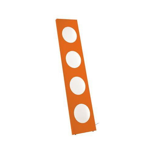 Foscarini Dolmen Stehleuchte LED / L 40 cm x H 180 cm - Foscarini - Orange