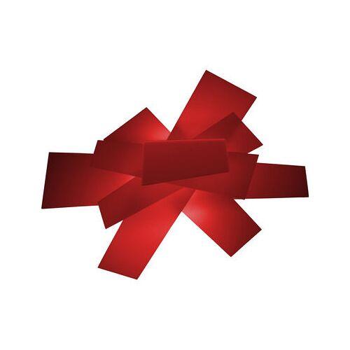 Foscarini Big Bang Wandleuchte Deckenleuchte - Foscarini - Weiß,Rot