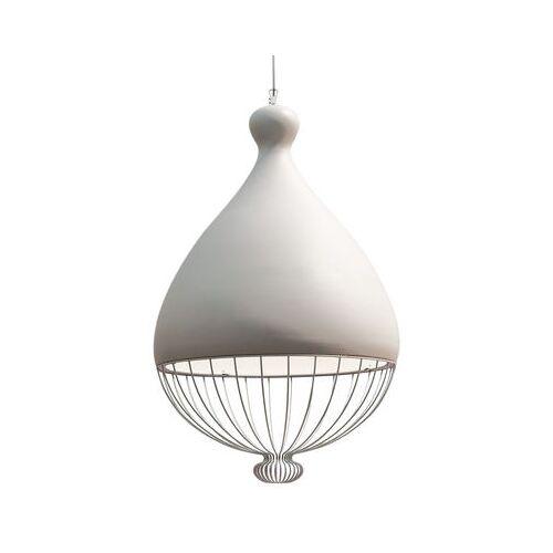 Karman Le Trulle Pendelleuchte / Keramik - Ø 58 cm x H 91 cm - Karman - Weiß