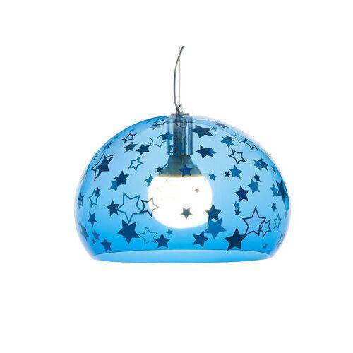 Kartell FL/Y KIDS Pendelleuchte / Small - Ø 38 cm - Kartell - Blau