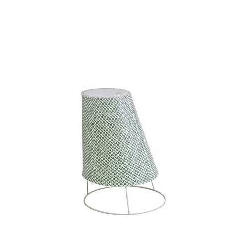 EMU Cone LED Small Lampe ohne Kabel / H 22 cm - Emu - Weiß,Grün