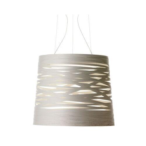 Foscarini Tress Pendelleuchte LED / Ø 48 x H 41 cm - Foscarini - Weiß