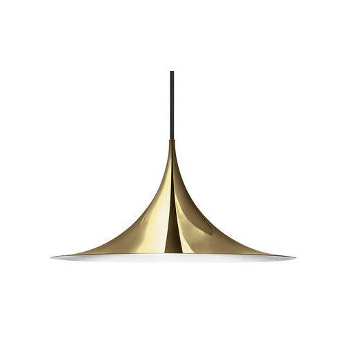Gubi Semi Pendelleuchte / Ø 47 cm - Gubi - Messing