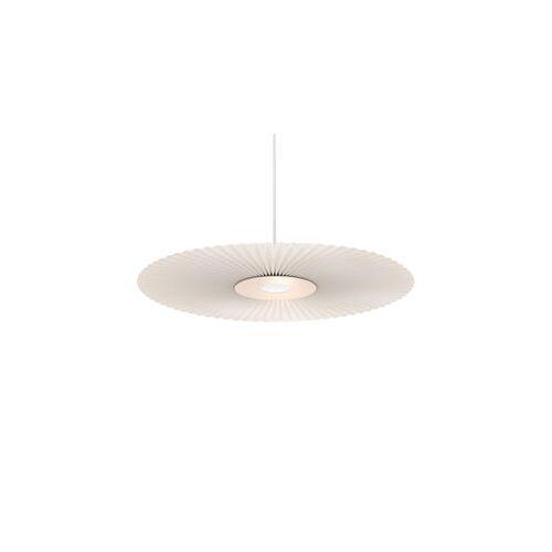 Hartô Carmen Pendelleuchte / LED - Ø 50 cm - Plissee-Stoff - Hartô - Blassrosa