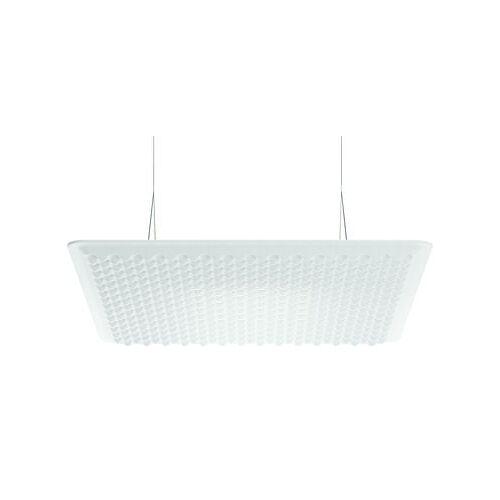 Artemide Eggboard LED Schalldämpfende Hängelampe / schalldämpfend - 80 x 80 cm - Artemide - Weiß