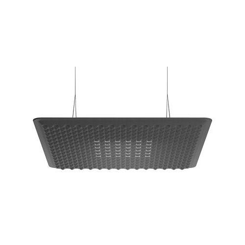 Artemide Eggboard LED Schalldämpfende Hängelampe / schalldämpfend - 80 x 80 cm - Artemide - Grau