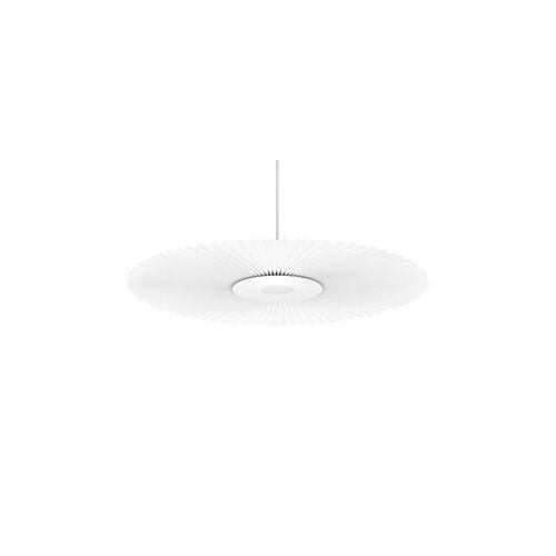 Hartô Carmen Small Pendelleuchte / LED - Ø 90 cm - Stoff mit Plissée-Effekt - Hartô - Weiß
