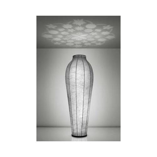 Flos Chrysalis Stehleuchte H 200 cm - Deckenfluter mit Projektor - Flos - Weiß