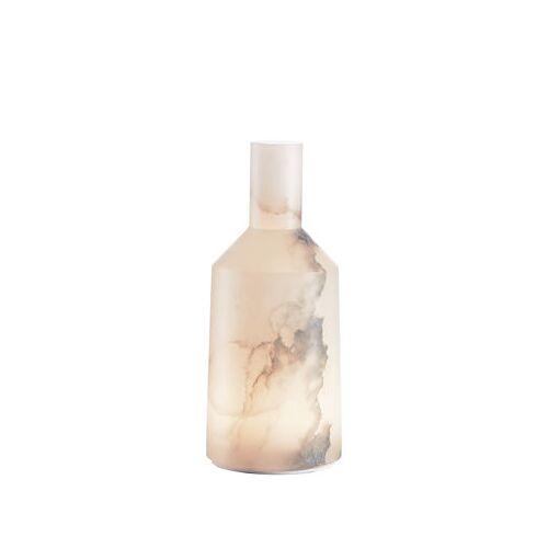 Carpyen Alabast Medium - LED Lampe ohne Kabel / H 30 cm - Alabaster - OUTDOOR - Carpyen - Weiß