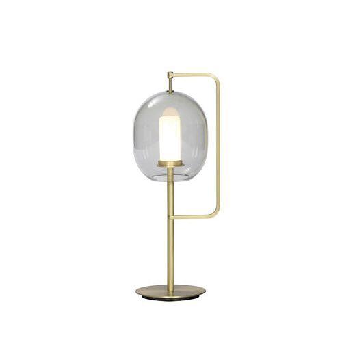 ClassiCon Lantern Tischleuchte / H 54 cm - ClassiCon - Rauchgrau,Goldmessing